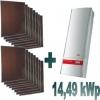 Impianto fotovoltaico Mitsubishi/Fronius 14,49  kWp